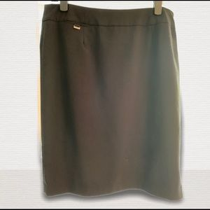 Calvin Klein Black Straight Skirt Size 14